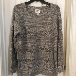Womens Sweater Light Open knit Weave Sz Large